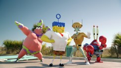 Spongebob: Sponge Out of Water Movie HD Wallpaper