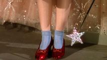 Wizard of Oz Ruby Slippers HD Wallpaper
