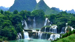 Detian Waterfall HD Wallpaper