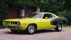 1971 Plymouth Hemi Cuda HD Wallpaper
