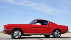 1966 Ford Mustang HD Wallpaper