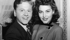 Mickey Rooney and Ava Gardner HD Wallpaper