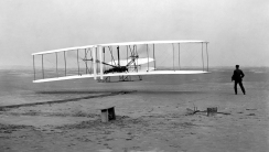 Wright Brothers First Flight HD Wallpaper